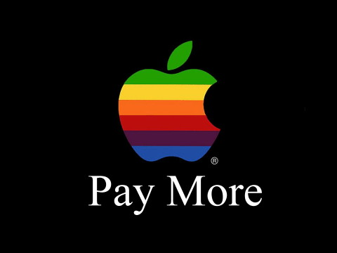 Apple - pay more
