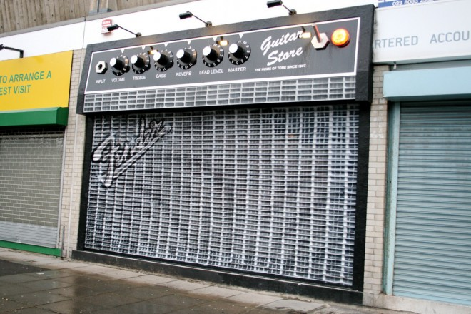 fender store front