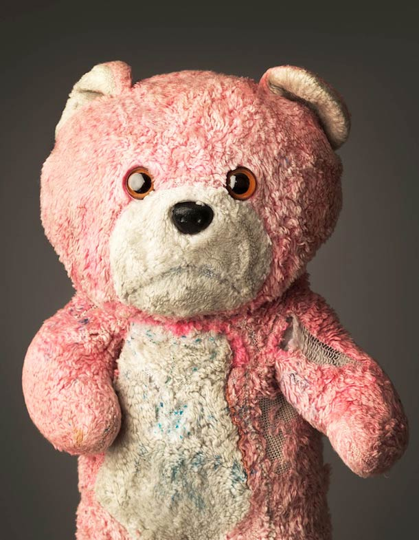 Much Loved by Mark Nixon, Decaying Teddy Bears