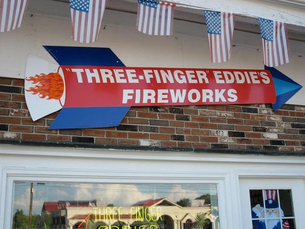Three finger Eddie