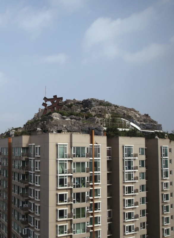 Beijing rooftop villa