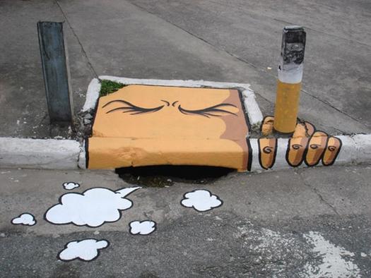Storm drain art