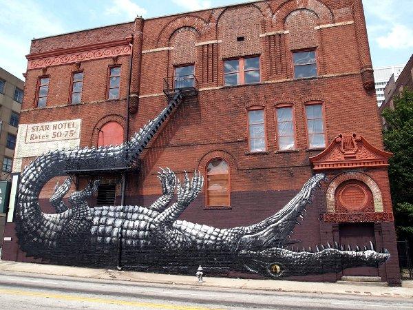 croc building