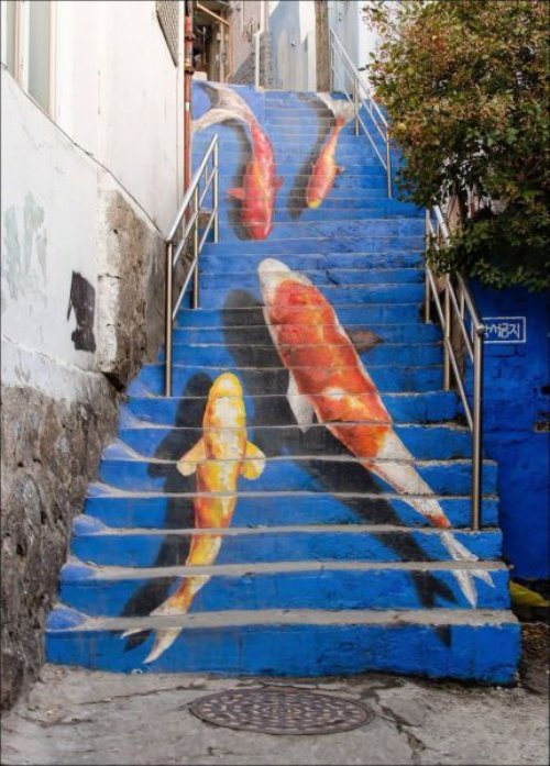 fishy steps