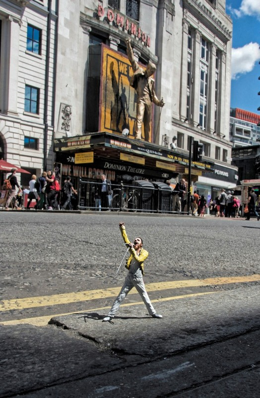 Marcus Crocker, small sculptures in a big city