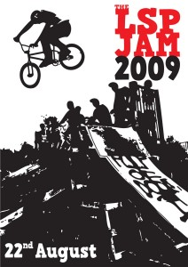 LSP BMX Jam poster 2009