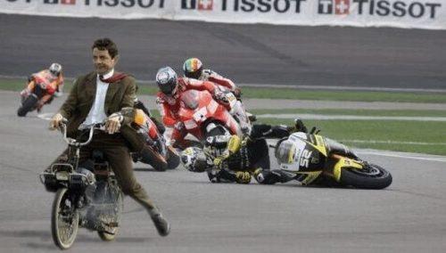Mr Bean Motorbike