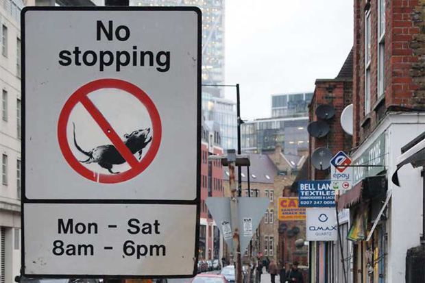 No Stopping, Banksy