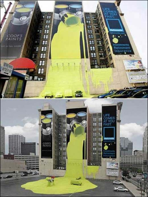 paint billboard
