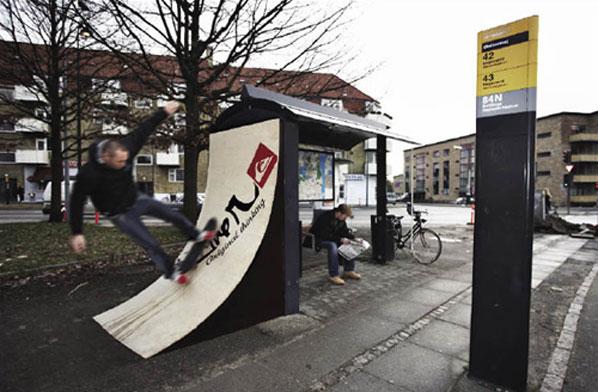 Quicksilver Bus Stop Advert