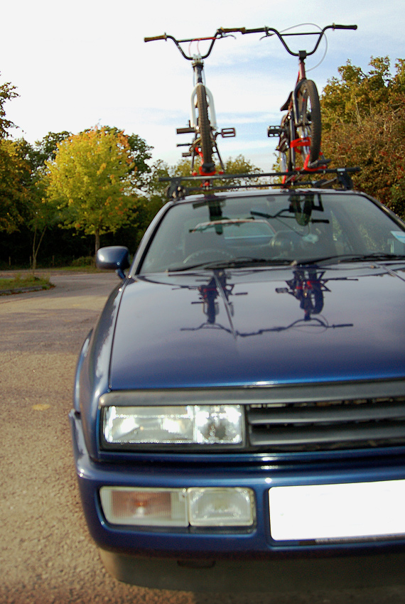 My Corrado at skatepark