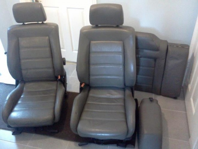 Some grey leather seats to fit into my Corrado