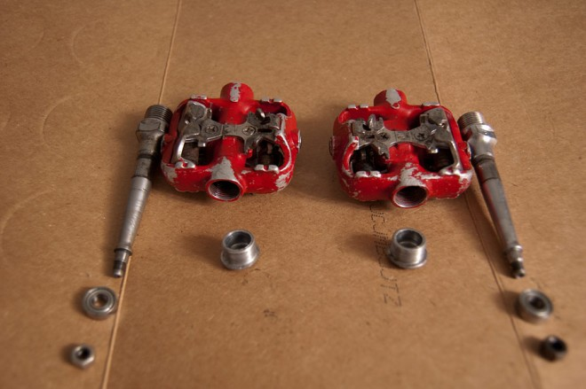 Ritchey spd clipless pedals