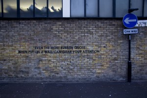 Even the most rubbish quote...