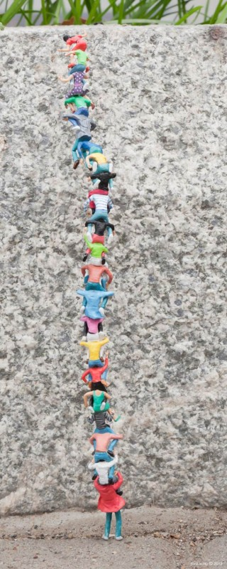 slinkachu - the little people project