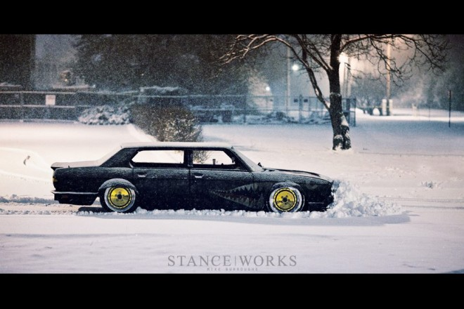 If BMW made snow ploughs...