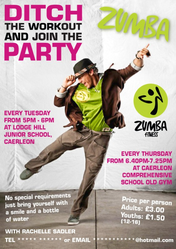 Zumba Flyer Template image tips